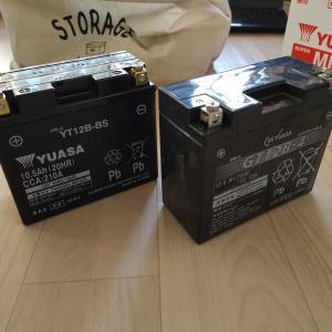 【台湾ユアサ】バッテリー終了ですかさず交換。ついでにUSB電源も交換。
