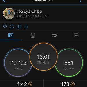 2020/9/16 省エネな感じのEペースジョグ