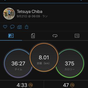 2020/9/21 ノーウォーミングアップ ジョグ & 女子5000m 日本歴代2位、3位の好タイム