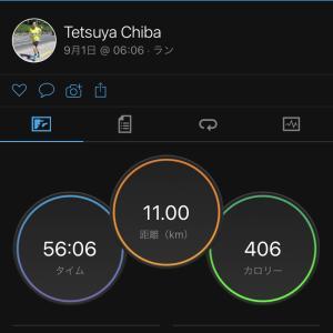 2021/9/1 Eペースでのジョギング中に、怪我!??