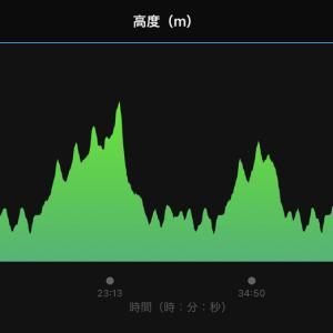 2021/9/17 体調良くなく、ゆっくり坂道ジョグ