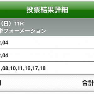 追加で購入、オークスと東京5レース