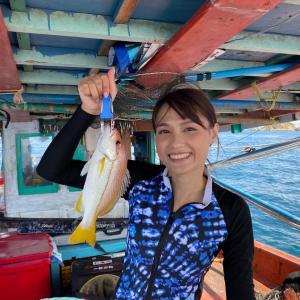 タイ駐在員のとある休日の過ごし方|『海釣り編』