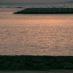 夕凪Sunset ~Reddish brown sea~