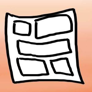 【見開き単位】1話1ページ→1話2ページ【違い】