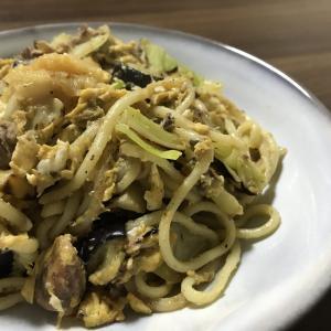 【 簡単 】ちゃんぽん麺で代用、塩レモン焼きそばの作り方