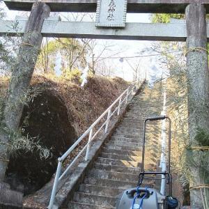 みかも山公園三毳神社下での移動運用