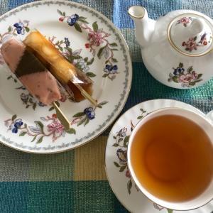 白玉団子と紅茶
