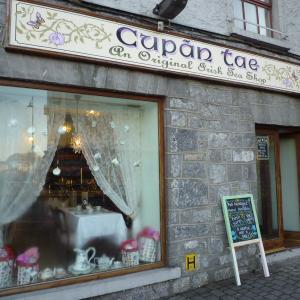 アイルランド西部ゴールウェイでも紅茶~Cupan Tae@Galway