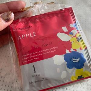 リンゴの香りとほのかな甘酸っぱさで目が覚める~アフタヌーンティー