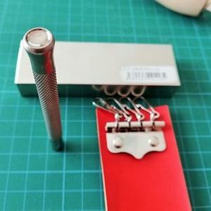 キーケースの作り方 4連キーホルダー取り付け