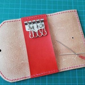 キーケースの作り方 手縫い