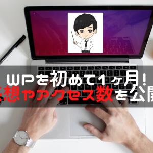 【WP1ヶ月目】はてなからWordPressへ移行した理由と運営してみた率直な感想