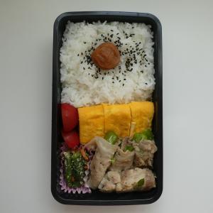 9/29夫弁 ピーマンの肉巻き弁当