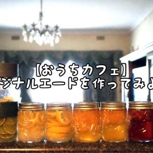 【おうちカフェ】オリジナルエードを作ってみよう!