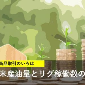 米産油量とリグ稼働数の関係は?