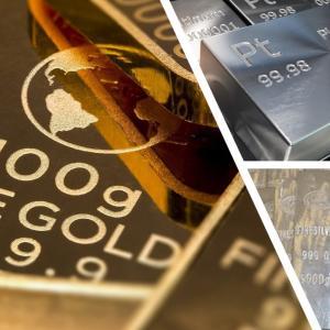 金、銀、白金の見通し