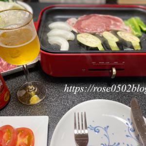 バズビデオvol.20【vlog・日常・料理】(後編) 疲労回復に豚肉 夏野菜で一人焼肉