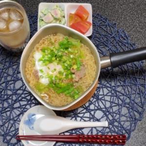 【vlog・日常・料理】ズボラな日曜日のお昼ごはん『みそラーメン』夜ごはんは・・