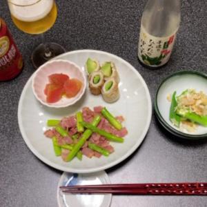 【vlog・日常・料理】朝の日常生活・使い切りたい残り物で一人晩酌