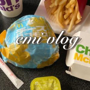 【vlog・日常】ひたすら食べて・ひたすら作業をする
