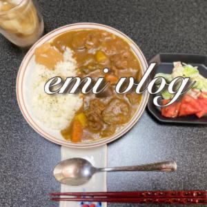 【vlog・日常・料理】椎茸冷凍保存・我が家の夏野菜カレー