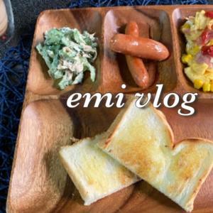 【vlog・日常・料理】中途半端な時間の朝・昼 兼用 ごはん