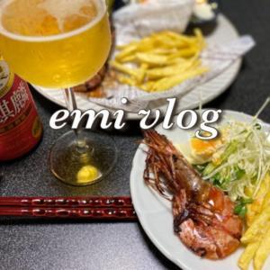 【vlog・日常・料理】一人晩酌/おつまみ/フライドポテト・他