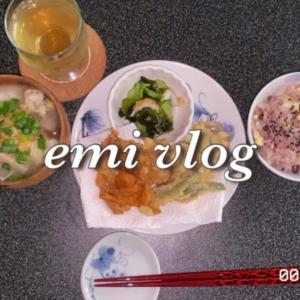 【vlog・日常・料理】おひとり様 秋の味覚を楽しむ お昼ごはん