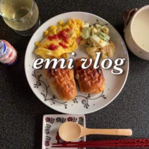 【vlog】一人暮らしの朝ごはん・日常