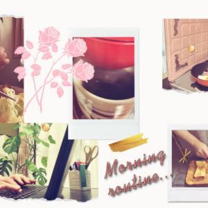【モーニングルーティン】田舎暮らしの40代一人暮らし/冬の季節の静かな朝の過ごし方/朝ごはん