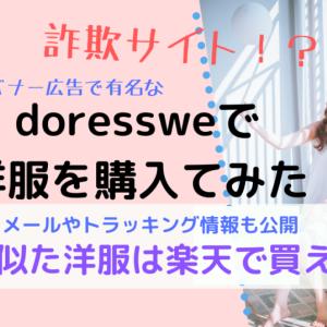 【詐欺と評判の】doressweで洋服買ってみた【超可愛い服の海外サイト】
