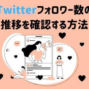 Twitter解析の必須ツール!無料でフォロワー数の推移を確認する方法