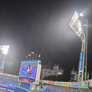 三嶋、山崎で7失点 オースティン逆転満塁弾も無に帰す