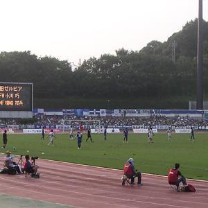 町田ギオンスタジアム(東京都町田市) 今は立派な観客席があります