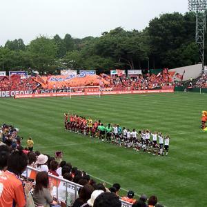 大宮公園サッカー場(埼玉県さいたま市) 改修前の姿