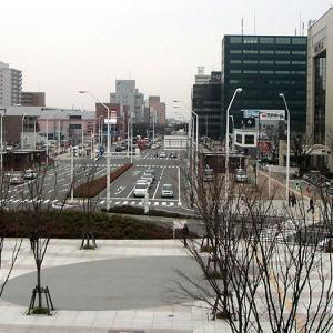 新潟駅南口(新潟県新潟市)高架化完成を静かに待つ
