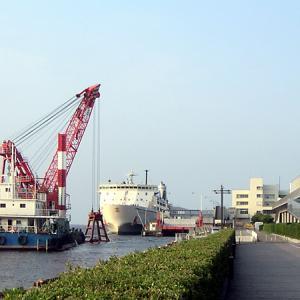 朱鷺メッセ(新潟県新潟市)新潟市中心部を展望