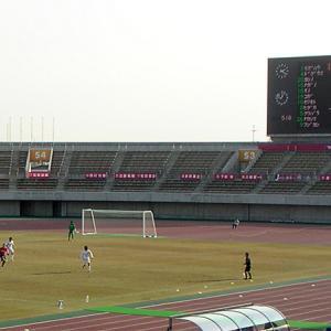 熊谷スポーツ文化公園陸上競技場(埼玉県熊谷市)広々まったり