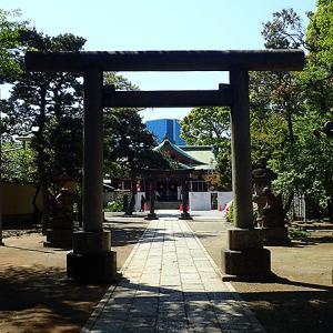品川神社(東京都品川区)港であり宿場でもあった北品川
