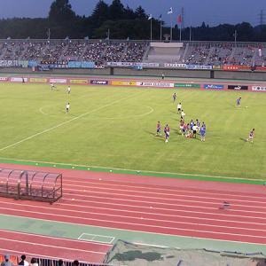 笠松運動公園陸上競技場(茨城県那珂市)広々していてゆったり