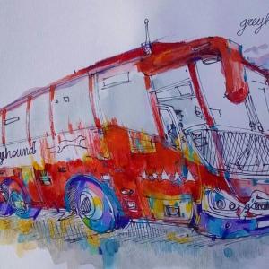 オーストラリアの長距離バスに乗ってみた。えみこ旅AUS編#1