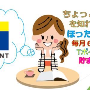 【保存版】Tポイントが勝手に貯まる?ほったらかしで6万円分が無料で貯まるコツ!