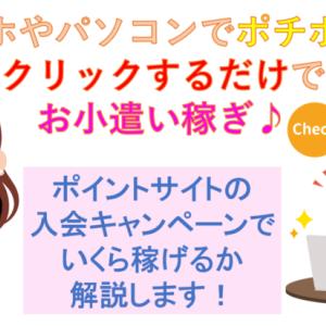 ポイントサイト入会キャンペーン比較!無料で8800円相当+Amazonギフト券1200円獲得する方法