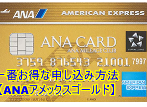 【8月最新】ANAアメックスゴールドの入会キャンペーンで65,000マイル獲得!一番お得な申し込み方法を解説!