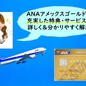 【ANAアメックスゴールド】アメックスのサービス・特典・保険をどこよりも詳しく・分かりやすく解説