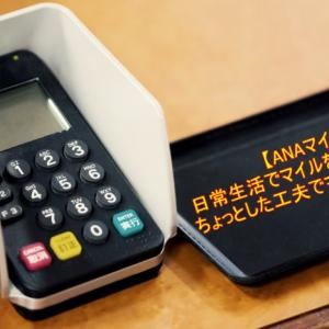 【ANAマイル】日常生活で貯める陸マイラーの極意!最初は提携店、レストラン、電子マネー、ホテル予約、フライトで貯めよう!