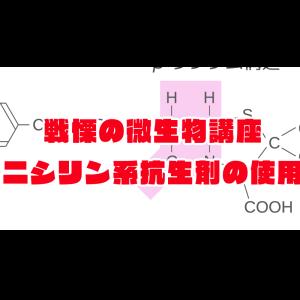 戦慄の微生物学~抗生剤編~ペニシリン系 永久保存版