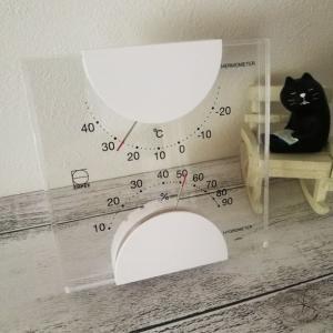 「エンペックスのアナログ温湿度計」を購入しました