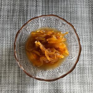 柚子ジャムを作りました